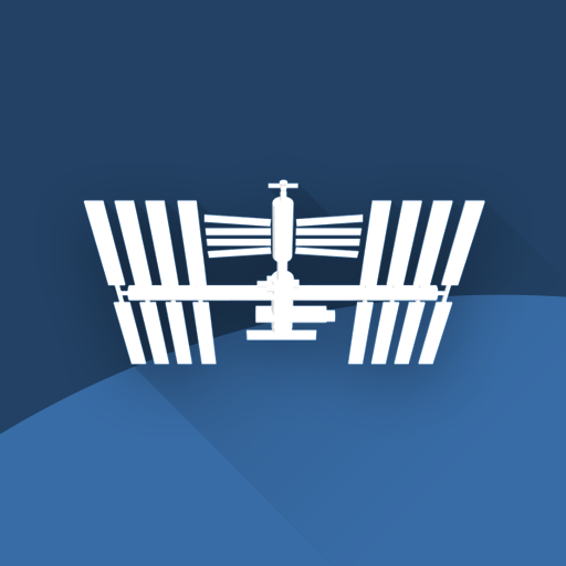 ISS Detector كاشف محطة الفضاء الدولية أيقونة