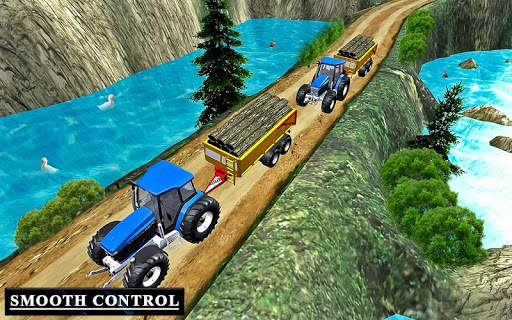 Drive Tractor trolley Offroad Cargo- Free 3D Games screenshot 6