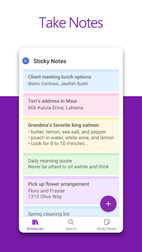 Microsoft OneNote: Save Ideas and Organize Notes screenshot 2