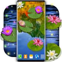 Water Lily Live Wallpaper 🌺 Flowers Wallpapers on 9Apps