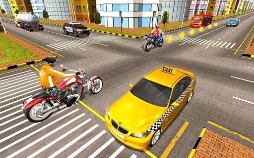 Bike Attack Race : Highway Tricky Stunt Rider screenshot 3