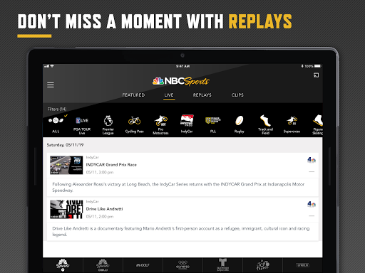 NBC Sports 7 تصوير الشاشة