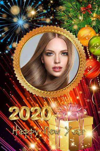 2021 New Year Photo Frames Greeting Wishes screenshot 11