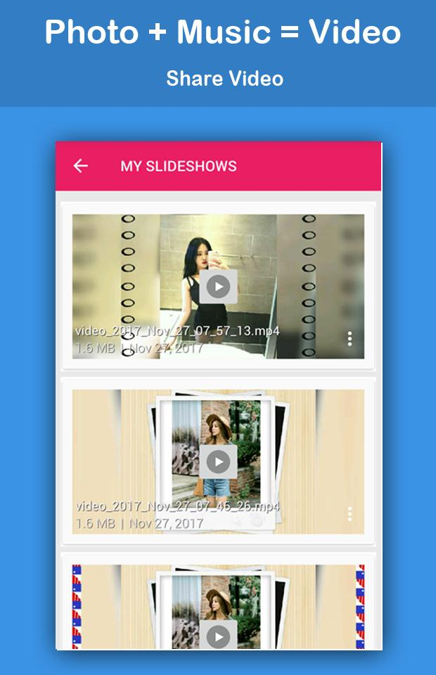 Video Maker with Photo and Music screenshot 7