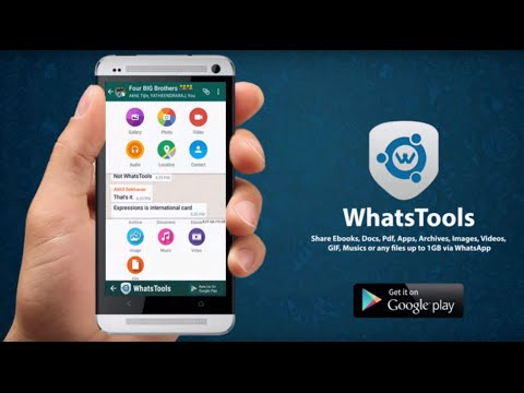WhatsTools: Share File Via IM screenshot 1