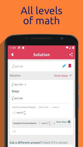 Symbolab - Math solver screenshot 3