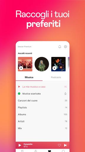 Deezer: Musica, Playlist e Podcast screenshot 6