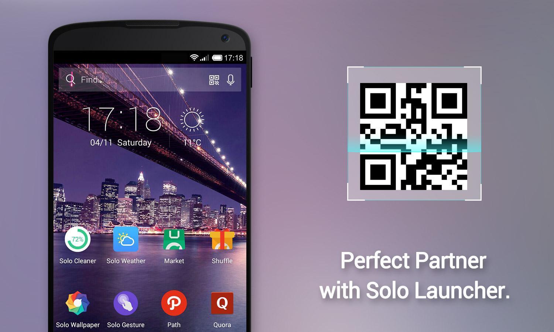 Solo QR Code Scanner 3 تصوير الشاشة