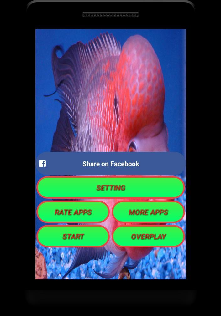 Flowerhorn Fish Special Live Wallpaper 2 تصوير الشاشة