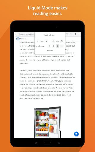 Adobe Acrobat Reader: PDF Viewer, Editor & Creator 11 تصوير الشاشة