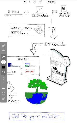 INKredible - Handwriting Note 9 تصوير الشاشة