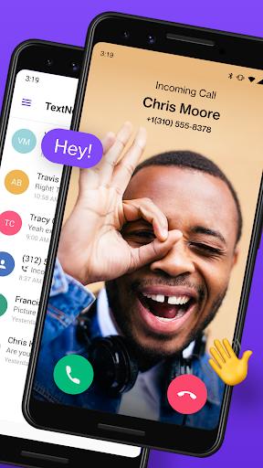 TextNow: Free Texting & Calling App 2 تصوير الشاشة