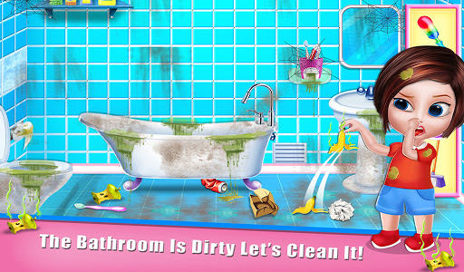 House Cleaning - Home Cleanup Girls Game screenshot 10