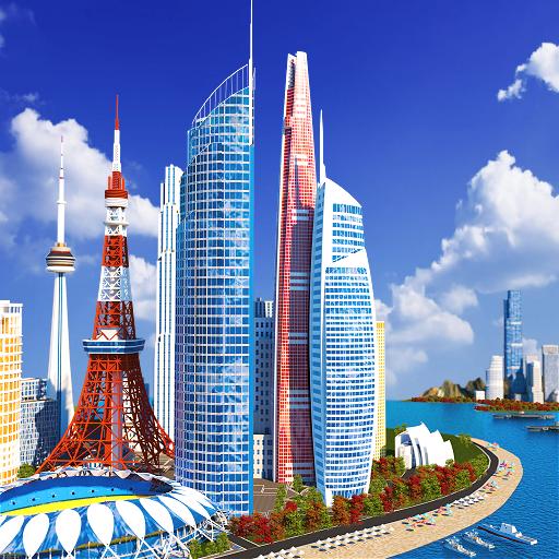 Designer City: Jogo de criação icon
