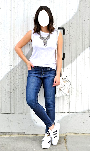 Girls Jeans Photo Suit screenshot 5