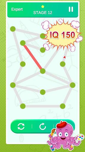 One Stroke Drawing Puzzle 5 تصوير الشاشة