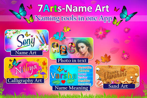 Name Art Photo Editor - 7Arts Focus n Filter 2020 screenshot 9