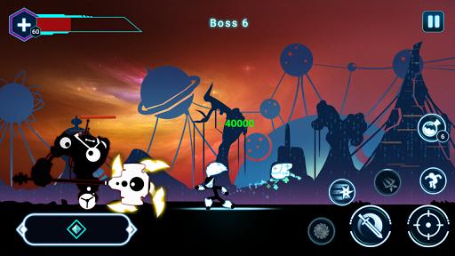 Stickman Ghost 2: Galaxy Wars - Shadow Action RPG screenshot 4
