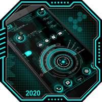 Hi-tech launcher 2020 - قفل التطبيق ، خلفيات Hitec on 9Apps