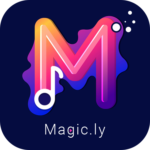 Magic.ly™ - Magic Video Maker & Video Editor icon