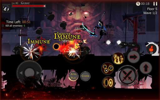 Shadow of Death: Darkness RPG - Fight Now screenshot 18