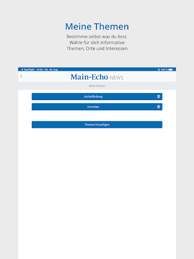 Main-Echo NEWS 13 تصوير الشاشة