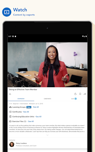 LinkedIn Learning: Online Courses to Learn Skills screenshot 10