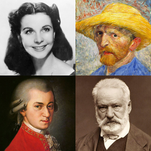 Famous People - History Quiz about Great Persons أيقونة