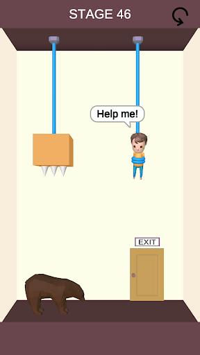 Rescue Cut - Rope Puzzle screenshot 1
