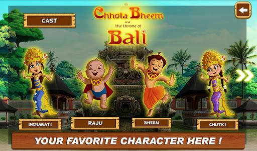 Bali Movie App - Chhota Bheem 3 تصوير الشاشة