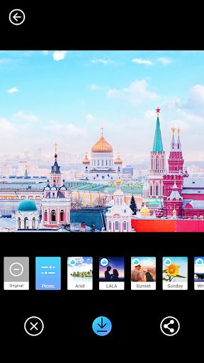 PICNIC - photo filter for dark sky, travel apps screenshot 7