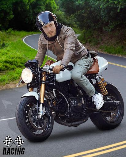 Man Bike Rider Photo Editor screenshot 4