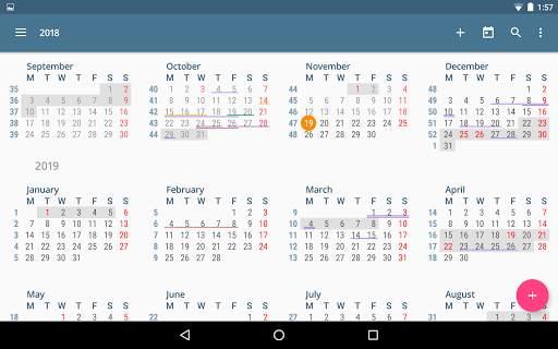 aCalendar - a calendar app for Android screenshot 10