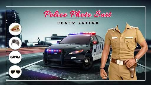 Men Police suit Photo Editor - Police Dresses screenshot 8