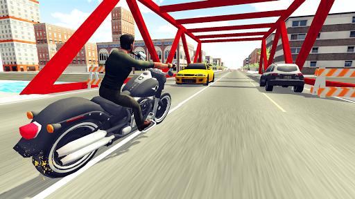 Moto Racer 3D screenshot 1