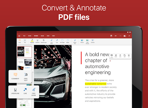 OfficeSuite - Word docs, Excel, PowerPoint & PDF screenshot 11