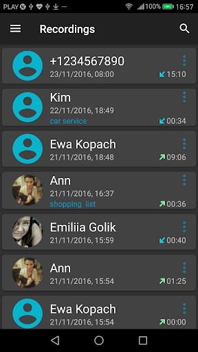 Call Recorder screenshot 3