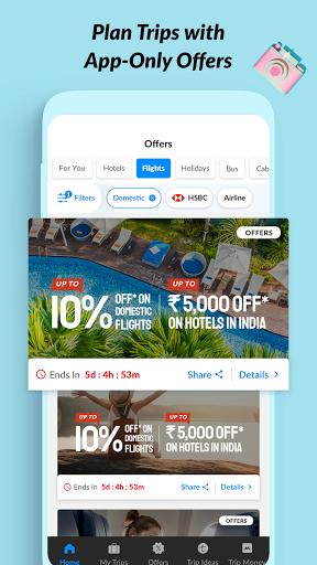 MakeMyTrip Travel Booking: Flights, Hotels, Trains screenshot 2