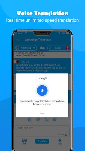 Free Translate - All Language Translation App screenshot 4