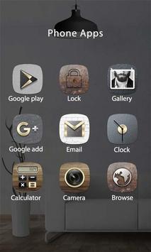 Concise Theme - ZERO Launcher 3 تصوير الشاشة