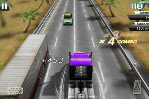 Mini Crazy Traffic Highway Race screenshot 4