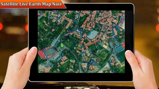 التجوّل الافتراضي المباشر وملاحةGPSوخرائطالأرض2021 9 تصوير الشاشة