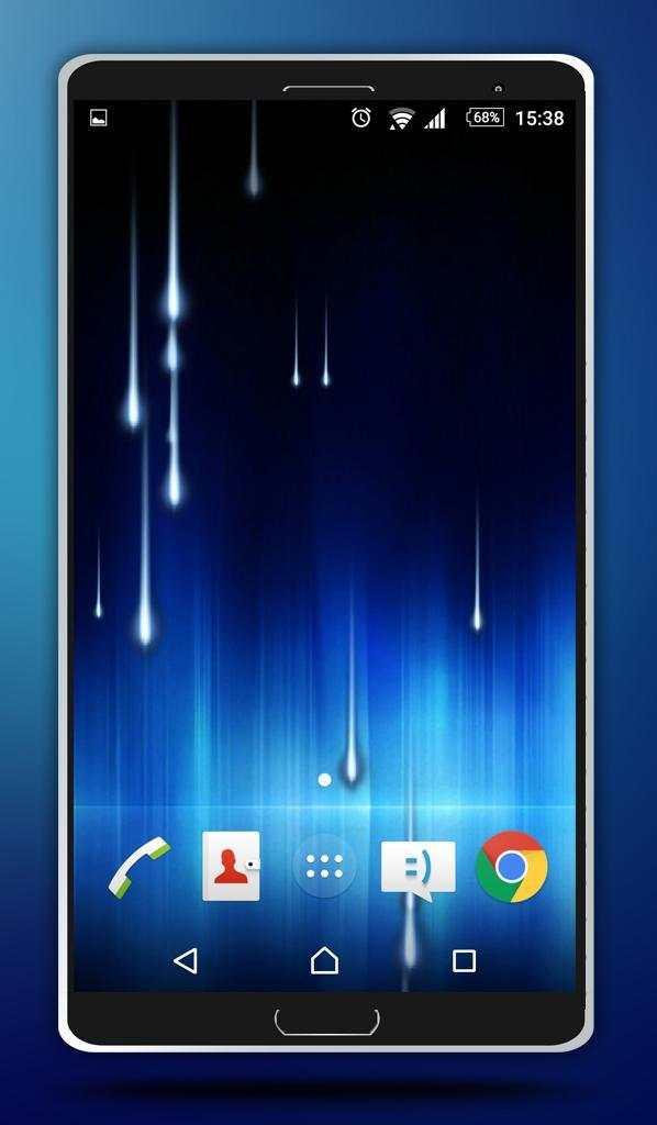 Star Rain Live Wallpaper screenshot 4