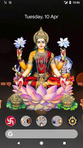 4D Lakshmi Live Wallpaper 3 تصوير الشاشة