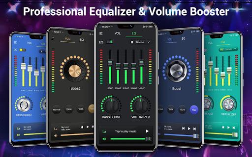 Efek musik Equalizer-Audio screenshot 1