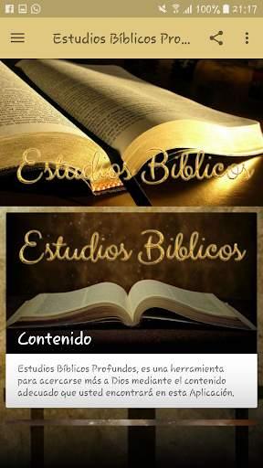 Estudios Bíblicos Profundos screenshot 2