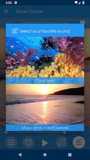 Relax Ocean - Nature sounds: sleep & meditation screenshot 6