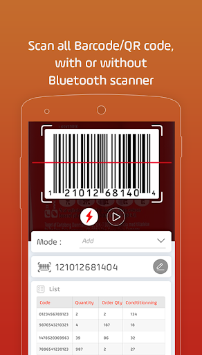 My Stock Inventory Mobile Cloud barcode scanner screenshot 5