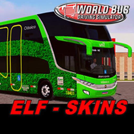 SKINS WORLD BUS DRIVING SIMULATOR - ELF