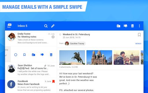 Mail.ru - Email App screenshot 6